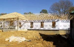 Construction of parish ministries building