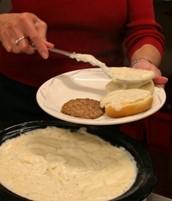 Saints' Brew volunteers have served over 200,000 meals since 2010