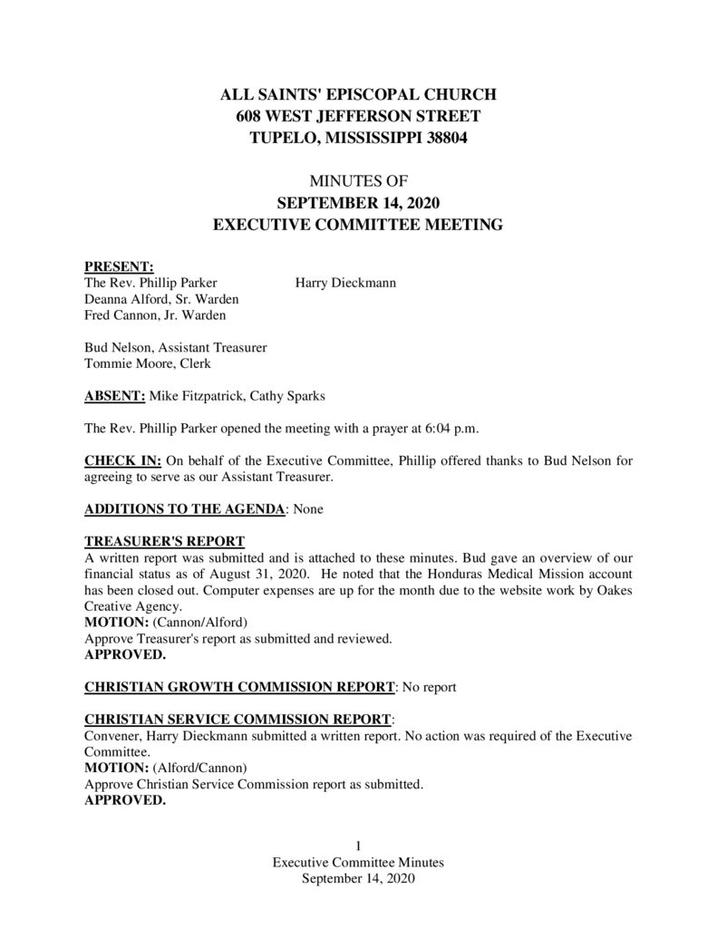 thumbnail of Executive-Committee-Minutes-September-14-2020